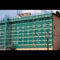 Maille de protection de façade 6 x 10m PONSA pour échafaudage