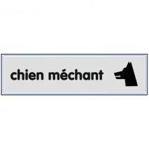 Plaque signalétique Chien Méchant