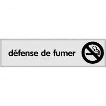 Plaque signalétique Défence de fumer