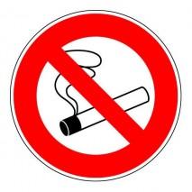 Panneau rond - Interdiction de fumer