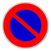 Panneau rond - Interdiction de stationner