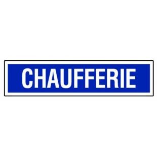 Panneau rectangulaire - Chaufferie