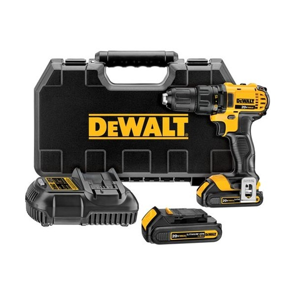 dewalt perceuse visseuse 13 mm compact 18v 1 5ah li ion dewalt. Black Bedroom Furniture Sets. Home Design Ideas