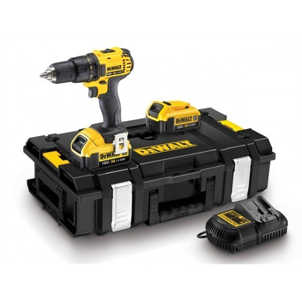dewalt perceuse visseuse 13 mm compact 18v 4ah li ion dewalt. Black Bedroom Furniture Sets. Home Design Ideas