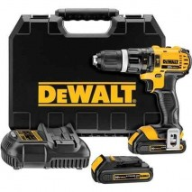 Perceuse visseuse percussion 13 mm Compact 18V - 1,5Ah Li-Ion DEWALT