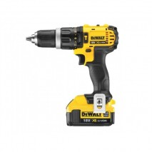Perceuse visseuse percussion 13 mm Compact 18V - 4Ah Li-Ion DEWALT
