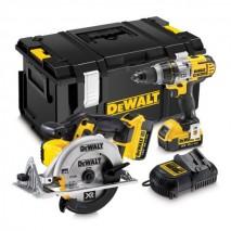 Kit 2 outils 18V - 4Ah Li-Ion / Gamme XR DEWALT