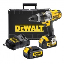 Perceuse visseuse percussion 13 mm XRP 18V - 4Ah Li-Ion DEWALT
