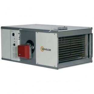 Chauffages horizontaux fixes à air pulsé avec ou sans brûleur fuel ou gaz de 46.5 à 1163 KW