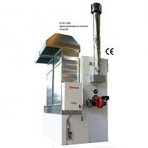 Chauffages fixes air pulsé haute pression avec brûleurs fuel ou gaz à combustion indirecte