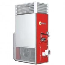 Gamme F115 SOVELOR - Chauffage fixe air pulsé avec brûleur fuel livré prêt à l'emploi avec réservoir et thermostat 115 KW