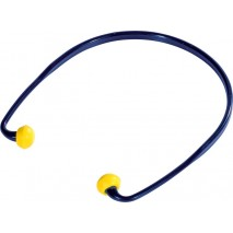 Bouchons d'oreilles ronds serre tête arceau SNR20db Delta+ CONICROND01