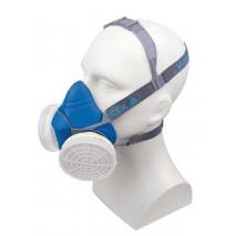 Demi-masque respiratoire confort tri-matières Delta+ M6200 - JUPITER