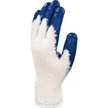 Gants tricot coton paume enduite latex jauge 10