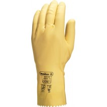 Gants latex chloriné long. 30 cm ep. 0,45 mm