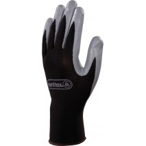 Gants tricot 100% polyester paume enduite nitrile jauge 13