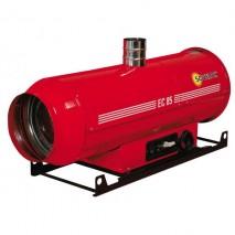 Chauffages air pulsé suspendus au fuel à combustion directe (sans cheminée) - 2 modèles de 65 à 105 KW