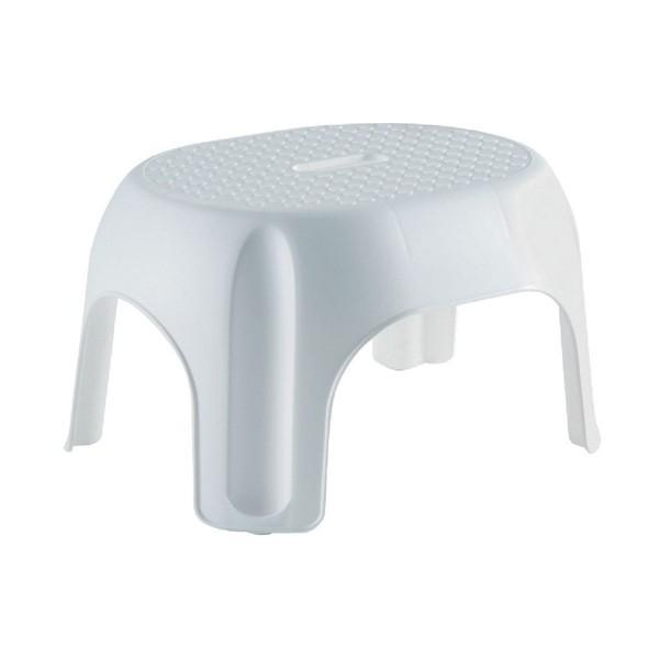 allibert marche pied empilable blanc hauteur 24 cm. Black Bedroom Furniture Sets. Home Design Ideas