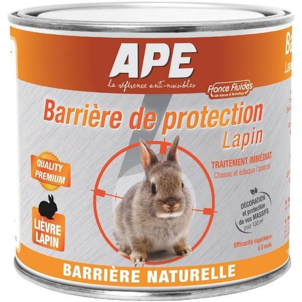 ape r pulsif anti lapin barri re protection naturelle. Black Bedroom Furniture Sets. Home Design Ideas