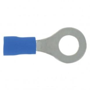 Dhome   10 cosses bleues pré-isolées à plage ronde Ø 4.3 mm