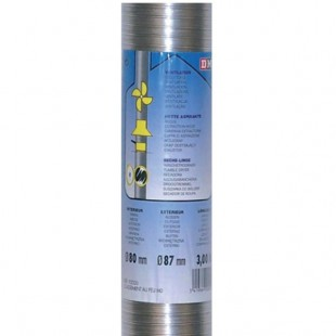 Dmo | gaine aluminium semi-rigide MO 1.5 m Ø 100 mm