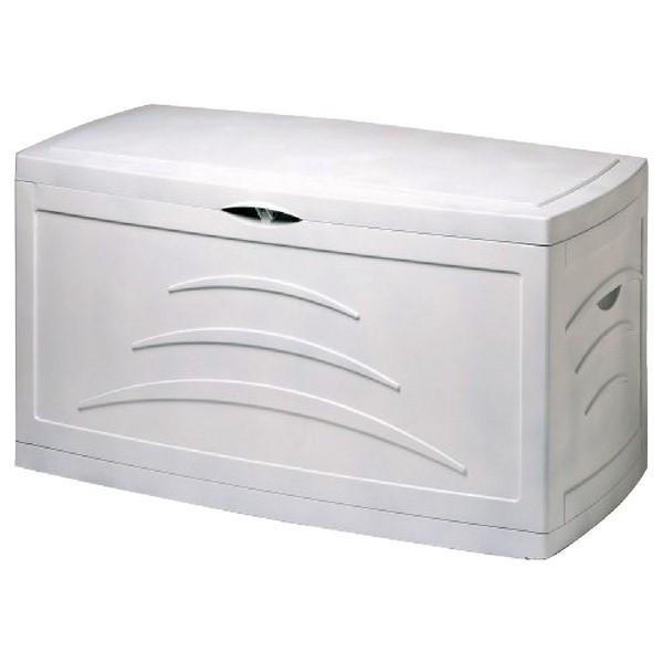 eda malle de jardin 310 l blanche. Black Bedroom Furniture Sets. Home Design Ideas