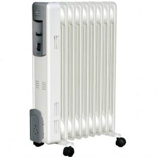 PVM - radiateur bain d'huile 11 éléments 2500w