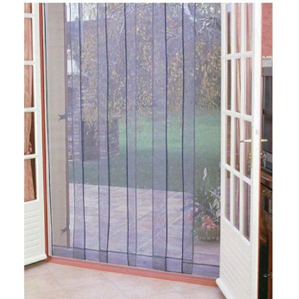 Morel moustiquaire de porte lest e 100 x 220 mm arles - Rideau de porte exterieur anti mouche ...