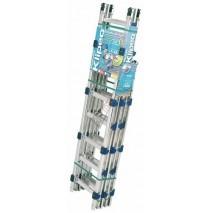 Pack échelle de toit KLIPEO modulable en aluminium entraxe 330 mm