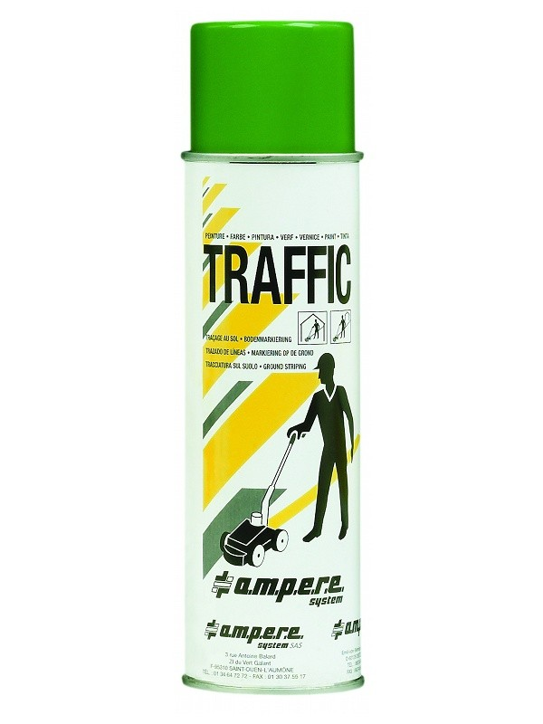 Aérosol de traçage TRAFFIC AMPERE 500 ml