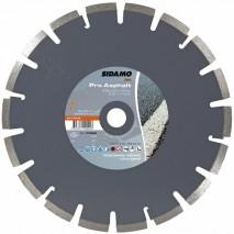Disque diamant Sidamo Pro Asphalte - Coupe asphalte à sec ou à eau