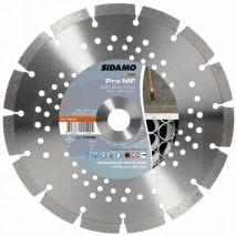 Disque diamant Sidamo Pro MF - Tronçonnage acier et béton