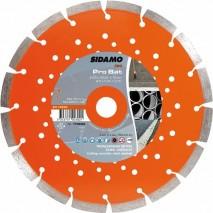 Disque diamant Sidamo Pro BAT - Tronçonnage béton, asphalte et acier