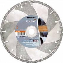 Disque diamant Sidamo Pro PMF - Tronçonnage multi-matériaux