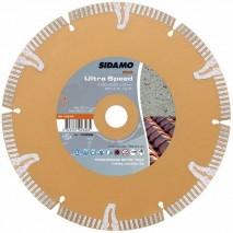 Disque diamant Sidamo Ultra Speed - Tronçonnage béton et tuile