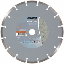 Disque diamant Sidamo Star Cut - Tronçonnage béton à sec ou à eau